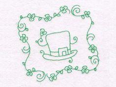 Saint Patricks Day Quilt Blocks Machine Embroidery Designs http://www.designsbysick.com/details/stpatrickqb