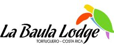 Logo La Baula Lodge Home for 1 night in tortuguero