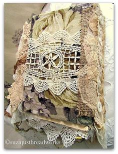 "Suziqu's Threadworks: Another Nature Fabric and Lacebook ""Birds Inspire"""