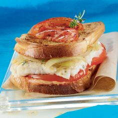 WeightWatchers.fr : recette Weight Watchers - Croque monsieur de poisson