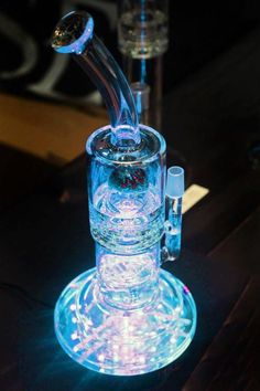Led light bong  www.stonernation.com #MaryJane #peace #marijuana http://maryjane4200.blogspot.com http://maryjane4200.blogspot.com