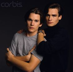 Awkward portrait of the lovely and underrated Ethan Hawke & Robert Sean Leonard