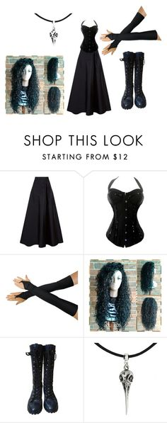 """Bellatrix Lestrange"" by katertot271 ❤ liked on Polyvore featuring MaxMara, Alivila.Y Fashion, Marc by Marc Jacobs and harrypotter"