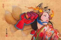 現代版的浮世繪長這樣!日本插畫家融合浮世繪與現代插畫超吸睛   微文青   妞新聞 niusnews