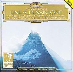 R. STRAUSS Alpensinfonie - Herbert von Karajan / Berlin Philharmonic Orchestra    1980
