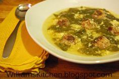Italian Wedding Soup..gluten free