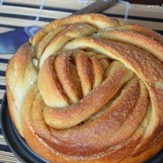 Cinnamon Rose Bread (Find the full recipe here: http://www.13secretsauce.com/2013/02/cinnamon-rose-bread.html?m=1 -g2)