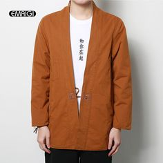 >> Click to Buy << 2017 New Spring Autumn Mens Jacket High Quality Fashion Hiphop Men's Kimono Coat Male Cardigan Loose Thin Jacket #Affiliate