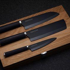Cool Kitchen Gadgets, Kitchen Items, Kitchen Utensils, Kitchen Knives, Cool Kitchens, Kitchen Decor, House Essentials, Kitchen Essentials, Knife Sets