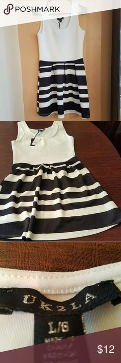 Cute summer dress Uk2la dress NWT Black/white Dresses Midi