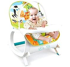 Buy Luvlap Go Fishing Baby Bouncer with Soothing Vibration and Music (Multi Color) Online at Low Prices in India - Amazon.in Best Baby Bouncer, Baby Rocker, Baby Fish, Bouncers, Super Saver, Going Fishing, Infants, Musical, Baby Gear