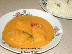 Fish in Coconut Sauce | Fauzia's Kitchen Fun
