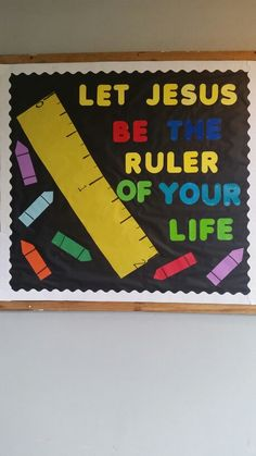 Church back to school bulletin board                                                                                                                                                                                 More