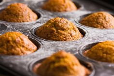 Enjoy the season's flavors to the fullest with this gluten-free vegan pumpkin muffin recipe.