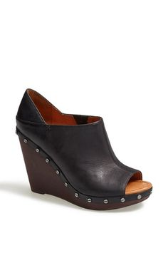 It seems that Dr. Scholl's is going making strides in the fashion world. These Dr. Scholl's Original Collection 'Sofia' Wedge Bootie available at #Nordstrom are too cute.
