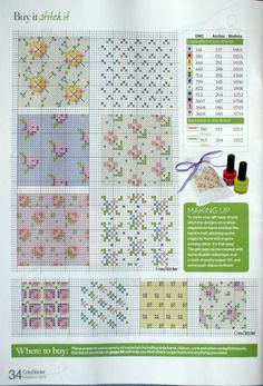 Mini patterns maybe for a quilt or a pillow 2