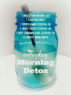 Get your morning detox drink every morning!  Helps body & skin ..