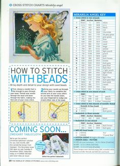 Gallery.ru / Фото #3 - 22 - mikolamazur. How to cross stitch with beads