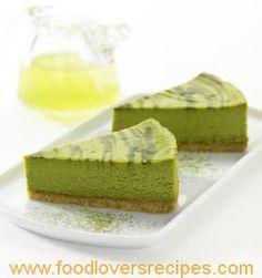 GREEN TEA CHEESE CAKE
