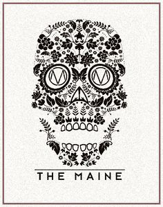 """""""Don't like the band since they are not even from maine. Or the actual image in whole but I like the idea for inspiration."""" Whoever said that can fucking leave. (:"""