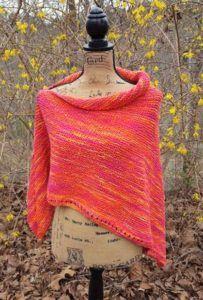Spring in the Ozarks Poncho « Knitting Board Blog