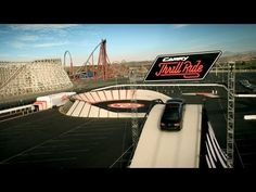 "Roller coaster 2013 Toyota Camry SE Commercial | ""Toyota Camry Thrill Ride"""