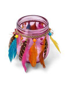 Portacandele di vetro gipsy rosa su VegaooParty, negozio di articoli per feste. Scopri il maggior catalogo di addobbi e decorazioni per feste del web,  sempre al miglior prezzo!