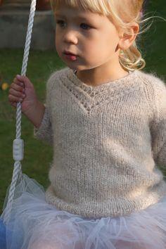 børnestrik, Drops Air, Paelas, hjemmestrikket, håndstrik, strik, strikket sweater, Valentine, Valentinegenser