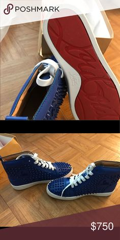 christian louboutin Like new condition wore once Christian Louboutin Shoes Sneakers