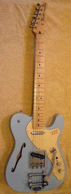 Tell me about your Thinline - Page 2 - Telecaster Guitar Forum