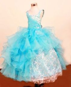 Hottest Pageant Dress for Toddler with Organza Ruffles and Lace