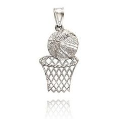 Basketball necklace :)