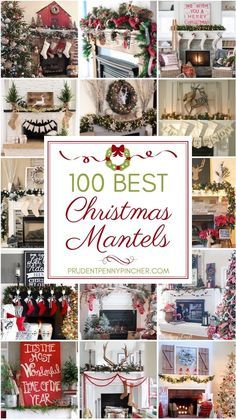 Make your home merry and festive with these creative Christmas Mantels. From traditional and vintage mantels to rustic and farmhouse mantels, there is something to match everyone's home decor style. There are over a hundred mantel Christmas decorations Christmas Mantels, Christmas Holidays, Christmas Ideas, White Christmas, Xmas, Christmas Movies, Classy Christmas, Christmas Island, Christmas Vacation