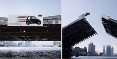 More Creative Billboard Advertisements |  SMART BRABUS: Bridge Jump | Advertising Agency: BBDO Düsseldorf, Germany