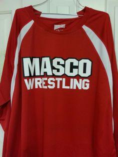 Masco wrestling shirt
