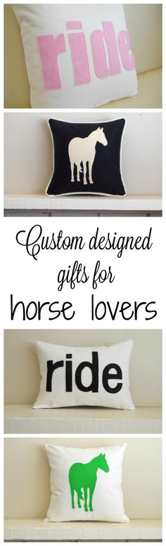 Need a one of a kind unique gift for the horse lover in your life? Custom…