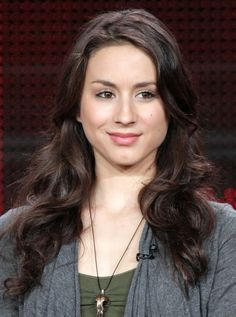 troian bellisario ~ aka my favorite celeb. <3 Getting my hair cut like this once my bangs are grown out.