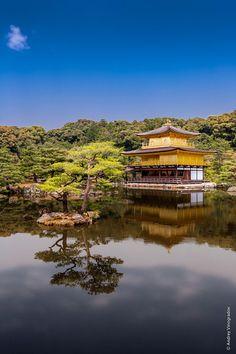Kinkaku-ji (Golden pavillion). Kyoto, Japan