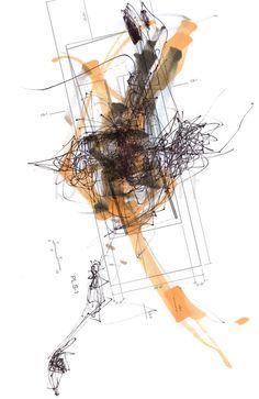 Unintentional Steps - Ballet art - 8.5x11 - Ballerina drawing, architectural floor plan - art print on Etsy, $24.00