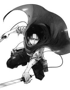 attack on titan, Shingeki no kyojin -- Levi
