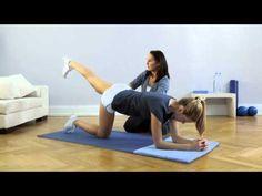 Fit Club - Rear Leg Raise | NIVEA Fit Club | On The Go Exercises | Legs