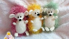 (Pattern available to purchase). Crochet Toys, Knit Crochet, Crochet Hedgehog, Doll Clothes, Free Pattern, Diy And Crafts, Crochet Patterns, Slippers, Teddy Bear