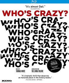 WHO'S CRAZY? BLU-RAY (KINO LORBER)