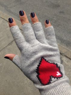 Autumn cashmere fingerless gloves. #100thingsiCRAVE #style