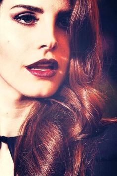 Lana Del Rey with her amazing voice that not only sings, but speaks for itself<3