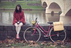 beautiful biking style