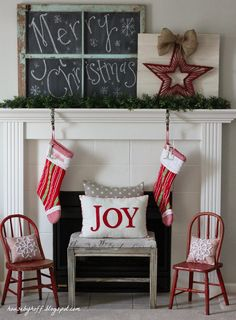 House by Hoff blog. Christmas 2013.  Lovely~