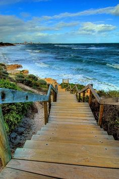 Down to the sea, Perth, Australia |
