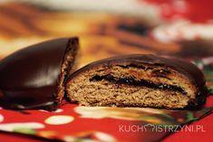 Bezglutenowe pierniczki z nadzieniem w czekoladzie