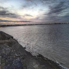 Dublin Bay from Blackrock Dublin Bay, My Photos, Sky, Beach, Water, Instagram Posts, Outdoor, Gripe Water, Outdoors